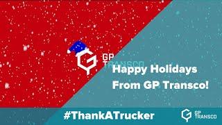 Happy Holidays from GP Transco!