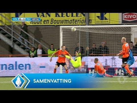 Highlights KNVB Beker: FC Volendam - PSV (26/10/2017)