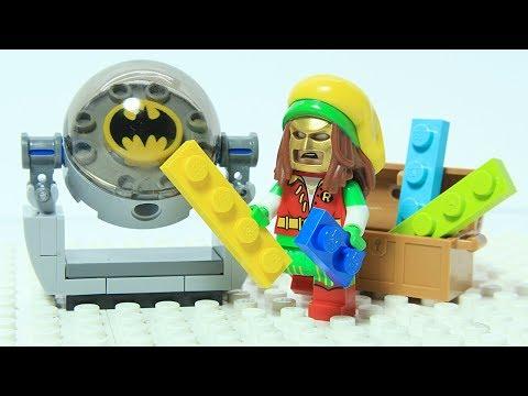 Lego Batman Brick Building Bat Light Superhero Animation