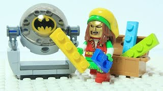 Lego Batman Brick Building Bat Light Superhero Animation
