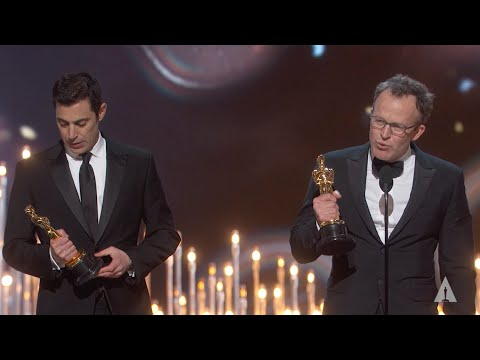 """Spotlight"" Winning Best Original Screenplay"