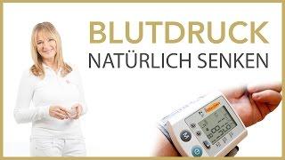 Blutdruck natürlich senken // Gesundheit, Hypertonie