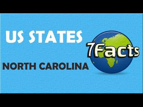 7 Facts about North Carolina