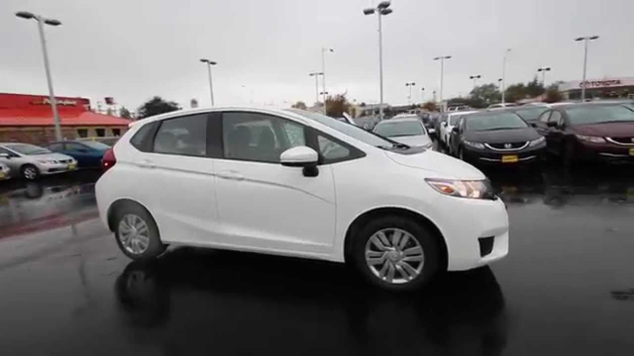 2015 honda fit lx white orchid fm731206 seattle for Honda fit 0 60