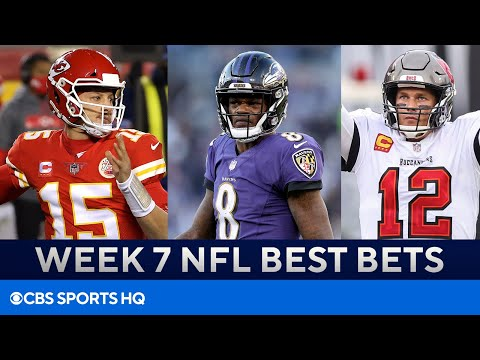 Week 7 NFL Betting Preview [Chiefs, Ravens, Bucs, & MORE]   CBS Sports HQ