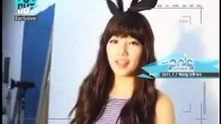 [110624] [Exclusive Cut] Behind the scenes with 20's choice MC Suzy!
