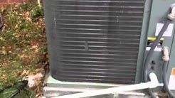 Cool Change Heating & Air -- Before and after AC unit gets cleaned