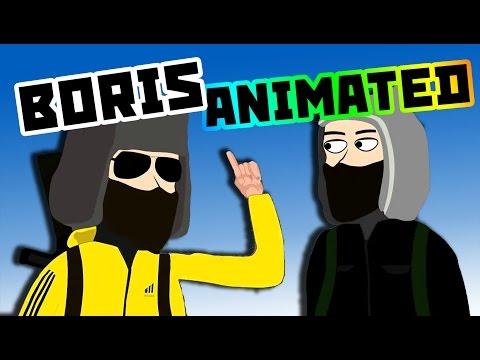 KOMPOT MERCENARY - Boris animation