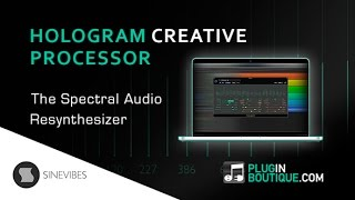 Hologram Spectral Audio Resynthesizer - From Sinevibes