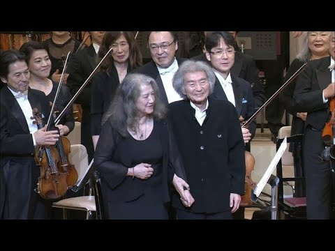 "Ludwig van Beethoven: ""Choral Fantasy"" op. 80 - Seiji Ozawa, Martha Argerich"