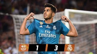 "FC. Barcelona vs Real Madrid, ""RESUMEN"" Highlights, Supercopa España 