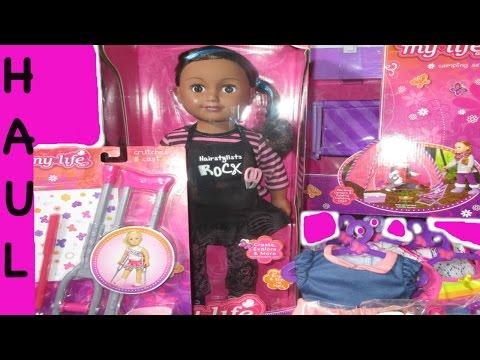 DOLL HAUL At WalMart + My Life Doll & Accessories!