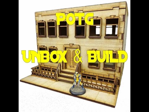 POTG UNBOX AND BUILD TTCOMBATS APARTMENT A