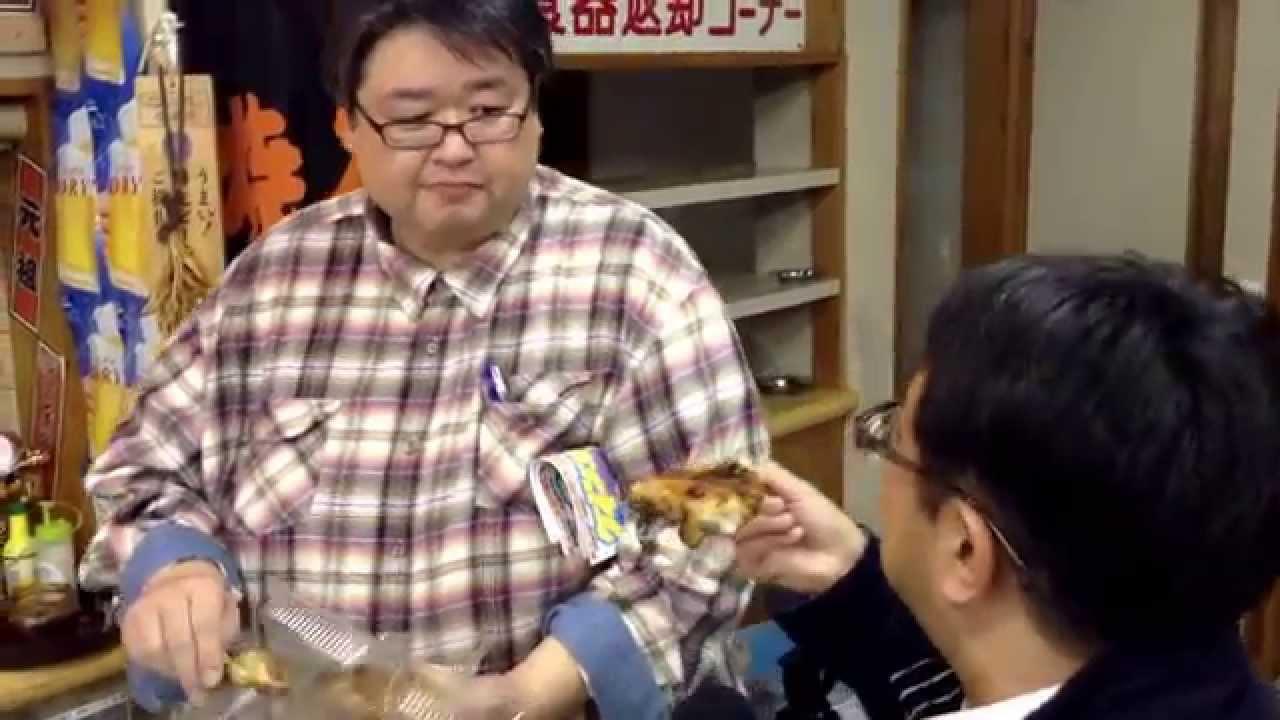 屋台村!「元祖ジャンボ焼とり」...
