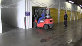 Commerical Forklifts & Loading Docks - Space Centre Self Storage Kelowna