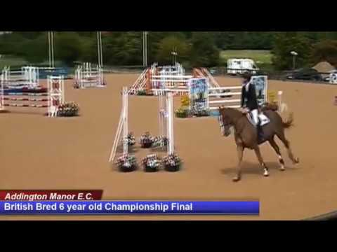 British Young Horse Showjumping Championships British Bred 6YO Final - Sunday 20th August 2017