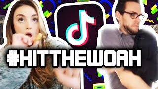 #hitthewoah is the current tiktok trend! here a compilation of some our favourites/the first ones we saw. #tiktok #memes