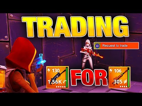 NEW TRADING Menu System! | No More Scammers! | Fortnite Save the World