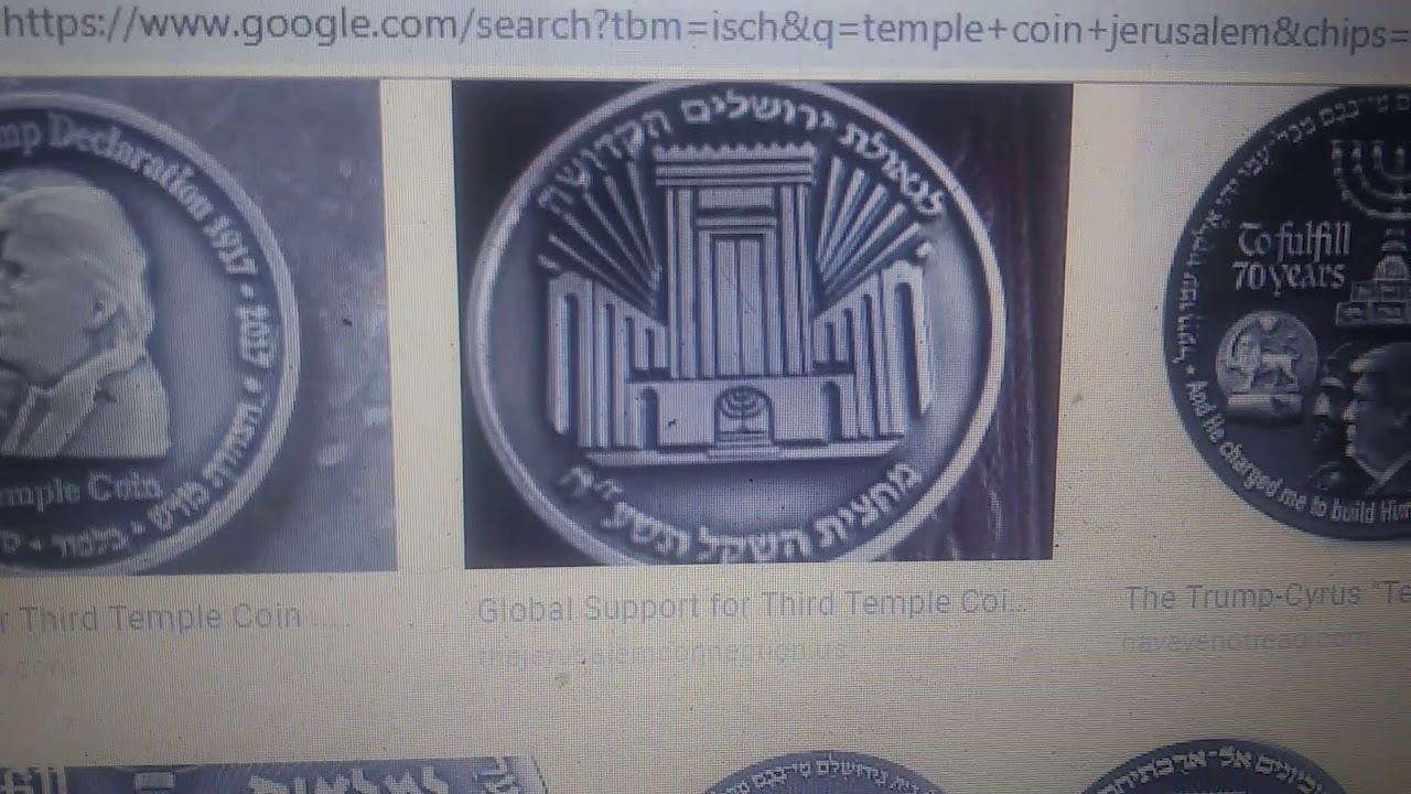 I SEE DONALD TRUMP STANDING IN THE TEMPLE OF GOD SHOWING HIMSELF HE IS GOD * THE ANTICHRIST IS SEEN