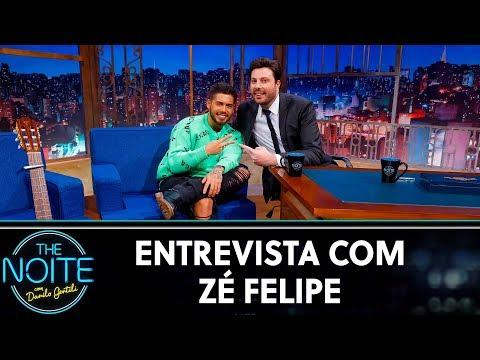 Entrevista com Zé Felipe  The Noite 100719