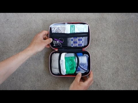 Cycling First Aid Kit