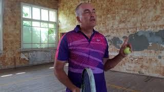 Популярные упражнения у стенки для большого тенниса