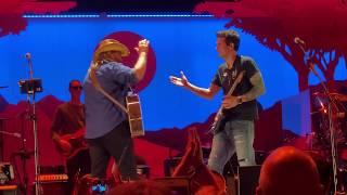 John Mayer and Chris Stapleton - Slow Dancing In A Burning Room - Nashville 8/8/19 *HD