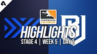 New York Excelsior vs Boston Uprising | Overwatch League Highlights OWL Stage 4 Week 5 Day 2