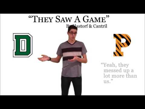 Selective Perception - They Saw A Game