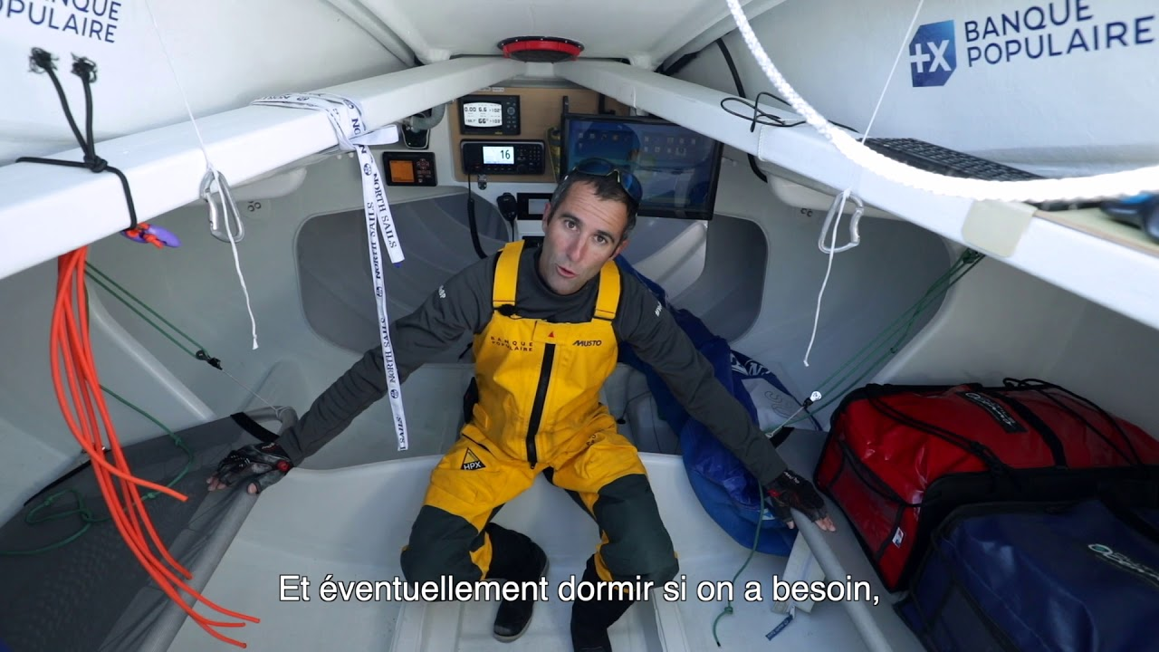 ARMEL LE CLEAC'H NOUS PRESENTE LE FIGARO 3 BANQUE POPULAIRE - YouTube