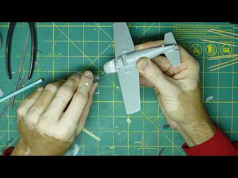 Hobby Boss 1/72 Scale F4F Easy Assembly Kit Build Part 1