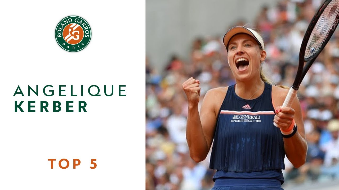 Angelique Kerber - TOP 5 | Roland Garros 2018