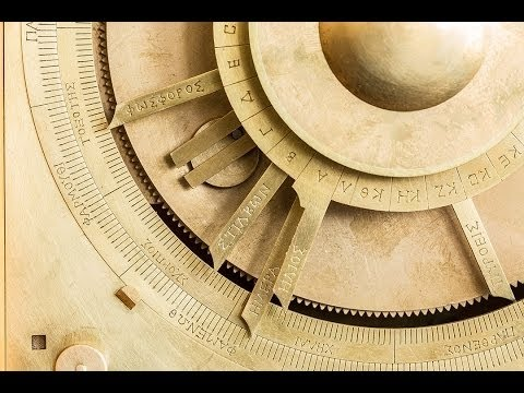 Secrets of the Antikythera Mechanism: Session 1