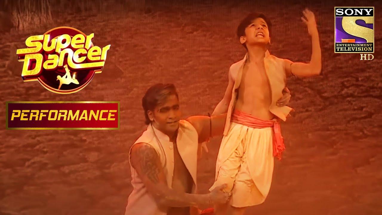 """""""घनन घनन"""" पर Bishal और Vaibhav ने दिया एक लाजवाब Performance   Super Dancer Chapter 2"""