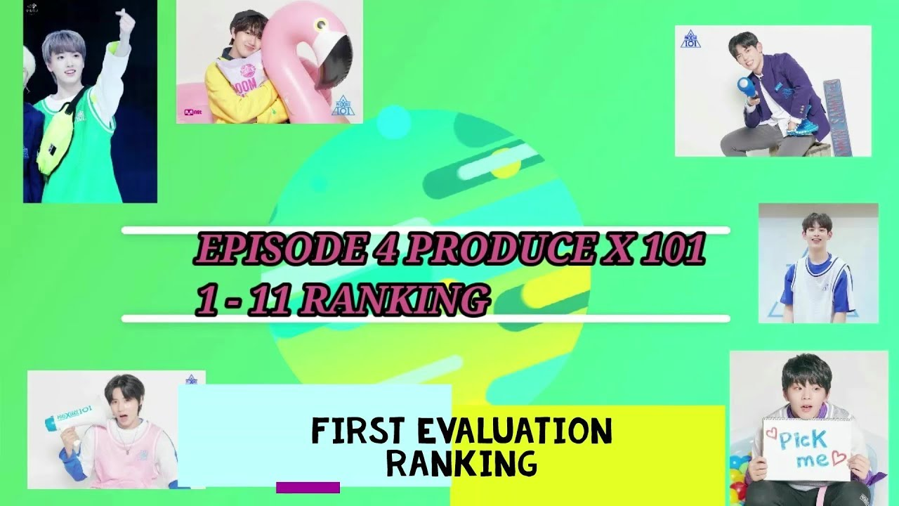11 78 MB] PRODUCE X 101 Episode 4 LATEST RANKING! | TOP 11