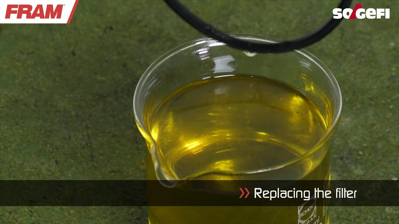 Fram Maintenance Fuel Filter C10026a Youtube Oil Top Racing