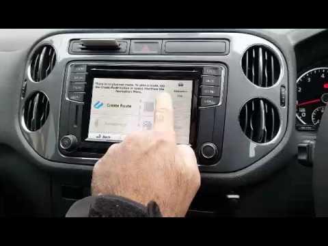 Hitv Volkswagen Tiguan Gps Navigation Upgrade