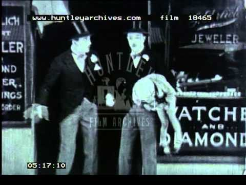 Wedding and wooing comedy, 1920's - Archive film 18465