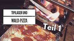 Tipilager mit @Sicky Popp und @HauiArt | Waldpizza von der Petromax FB1