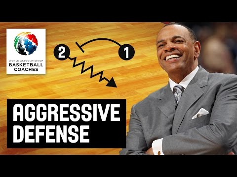 Aggressive Defense - Lionel Hollins - Basketball Fundamentals