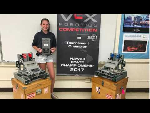 Waiakea Intermediate School Robotics Champs 2017