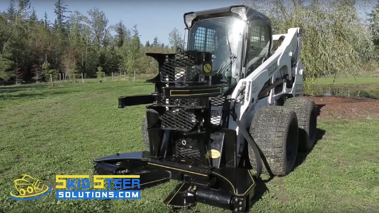 #1 Tree Shear for Skid Steer Loaders - The Hydraclip Tree Shear by M&M