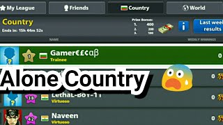 😍8 Ball Pool New Alone Country Trick +400 Cash Free - Top The Country [November 2017]