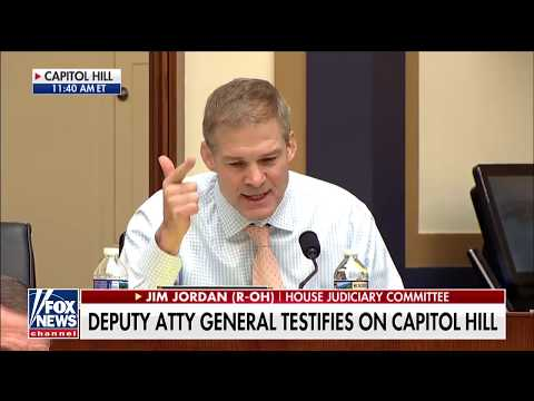 What 'Fact Pattern' Do You Need?: Jim Jordan Urges Rod Rosenstein to Appoint 2nd Special Counsel