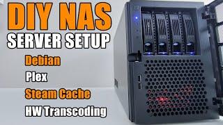 DIY NAS Server Setup with Debi…
