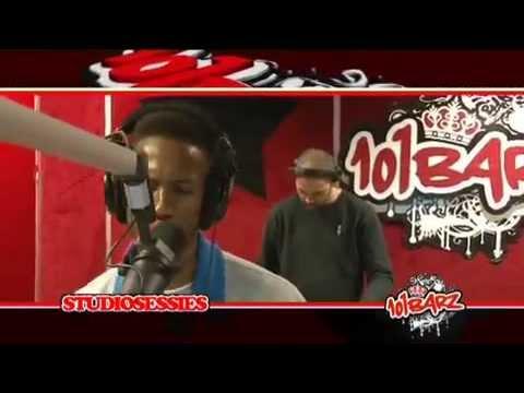 101Barz Studiosessie 107 D Double E, DJ Gomez