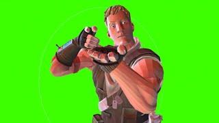 Green Screen Fortnite Soldier