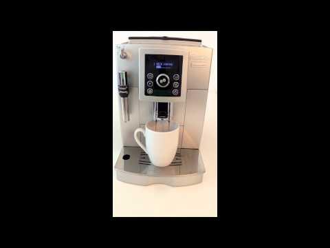 delonghi magnifica s ecam coffee maker unboxing and. Black Bedroom Furniture Sets. Home Design Ideas