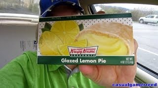 Reed Reviews - Krispy Kreme Glazed Lemon Pie