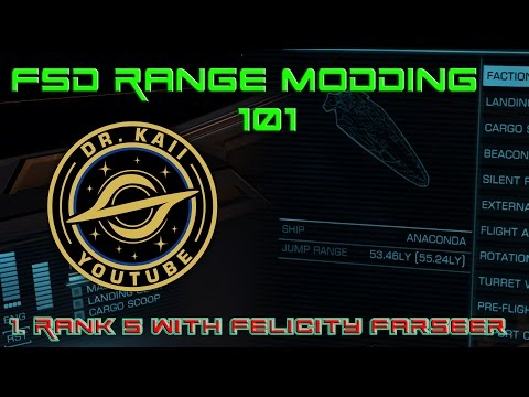 Elite: FSD Range Modding 101 - Getting to Rank 5 with Farseer, the quick way